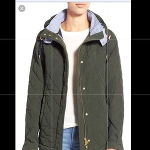 Vineyard Vines Waxed Quilted Jacket sz xl